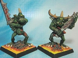 Dungeons & Dragons Miniatures  Demon Cyclops Goblins Hand Painted !!  s102 - $24.00