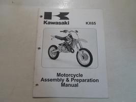 2004 2005 Kawasaki KX65 Motorcycle Assembly & Preparation Manual FACTORY OEM x - $54.40