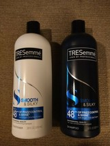 TRESemme Smooth & Silky-Argan Oil, Silk Protein, Shampoo & Conditioner 28 oz ea - $19.97