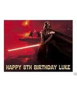 Star Wars Darth Vader edible cake image cake topper party decoration - $7.80