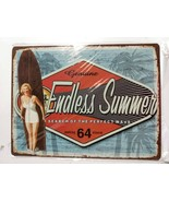Genuine Endless Summer Search Of The Perfect Wave Sign New in Plastic 10... - $18.80