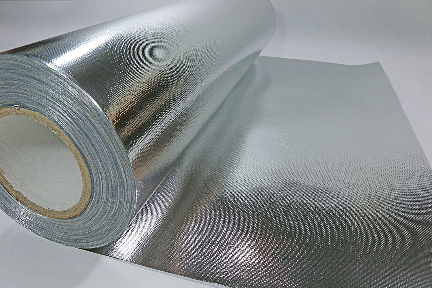 """R-2.0 6/"""" x 25/' Lot of 4 Reflective SPW0602508 Spiral Pipe Wrap Insulation"""