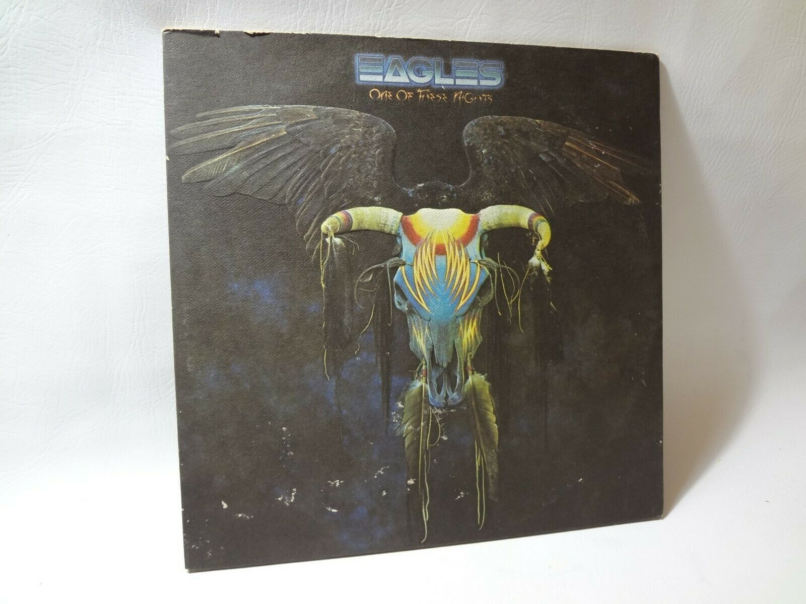 LP EAGLES ONE OF THESE NIGHTS RECORD EX VINYL   7E1039A