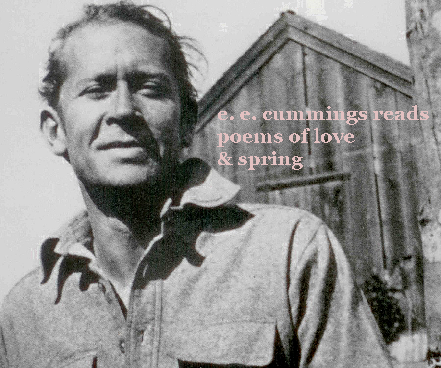 E.e. cummings reads poems of love   spring  front cover