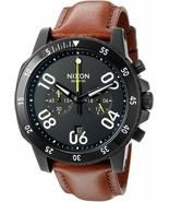 NWT Nixon Men's A940712-00 Ranger Chrono Leather Watch - $138.55
