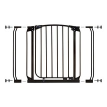 Dreambaby Chelsea Auto Close Security Gate in Black with Extensions - $69.99