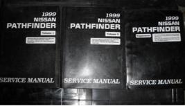 1999 nissan pathfinder service repair workshop manual set factory with s... - $98.98