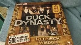 Duck Dynasty Redneck Wisdom Family Party Board Game 2013 Cardinal - $7.60