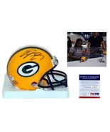 Eddie Lacy SIGNED Green Bay Packers Mini Helmet - PSA/DNA - Rookie Autograph - $108.89