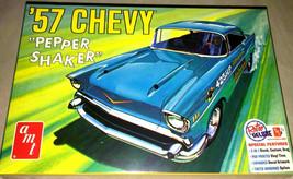 AMT 1957 Chevy Pepper Shaker 3-In-1 Stock Plastic Model Car Kit 1079 1/2... - $25.19