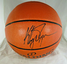 KLAY THOMPSON / GOLDEN STATE WARRIORS / AUTOGRAPHED FULL SIZE BASKETBALL / COA image 1
