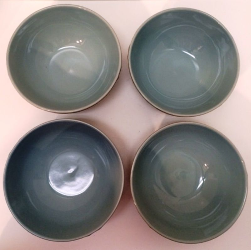Soup Cereal Bowls Four Thomson Pottery Cape and 50 similar items