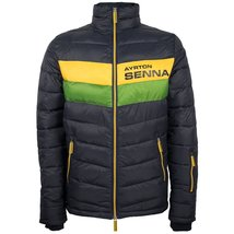 Ayrton Senna Authentic Men's Track Jacket Navy - $182.00