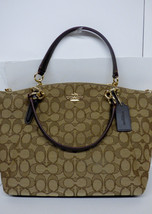 NWT COACH F58283 Small KELSEY OUTLINE SIGNATURE... - $124.69