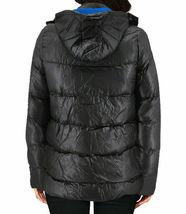 Women's Slim Fit Lightweight Zip Insulated Packable Puffer Hooded Jacket image 5