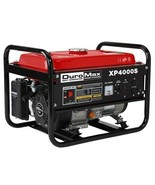 DuroMax XP4000S 7.0 HP Air Cooled OHV Gasoline Powered Portable RV Gener... - $386.10