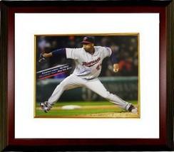 Francisco Liriano signed Minnesota Twins 16x20 Photo Custom Framed (May ... - $129.00