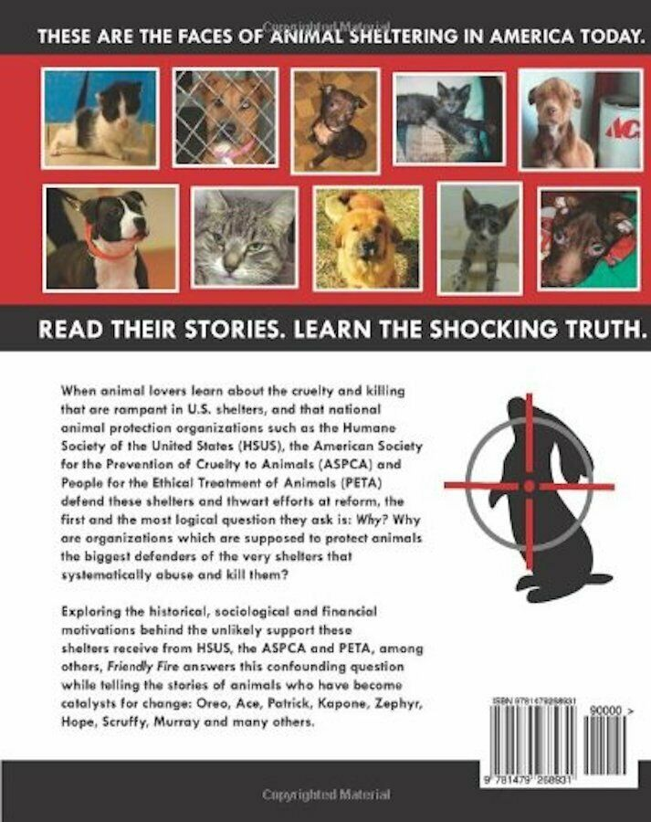Friendly Fire : Truth about Animal Shelters : Nathan & Jennifer Winograd : @ZB