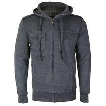 Niko Sportswear Men's Multi Pocket Fleece Lined Hooded Zip Up Jacket BJH-01 image 6