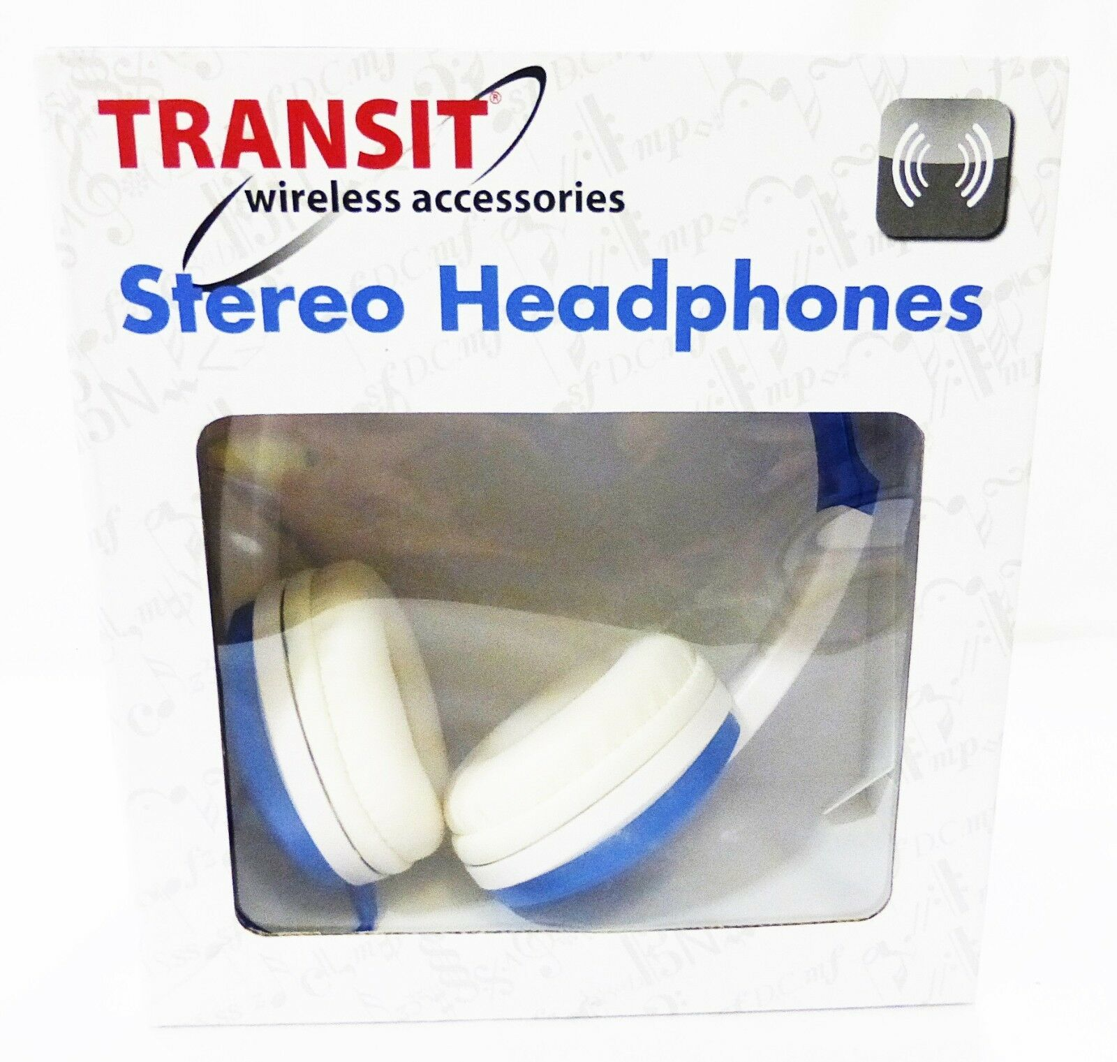 Primary image for headphones stereo Transit wireless accessories blue flexible
