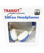 headphones stereo Transit wireless accessories blue flexible - $8.90