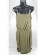 FOREVER 21 Women's Dress Long Size Extra Small Dark Green - $18.89