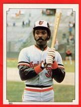 1984 Topps #203 Eddie Murray HOF baseball sticker - $0.01