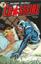 CROSSFIRE 12, June 1985 - DAVE STEVENS COVER - MARILYN MONROE - EVANIER/... - $5.00