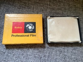 NOS - Kodak Ester type SS-343 thick base safety professional film 25 sheets 4 x5 - $29.99