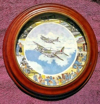 Ltd Edition Collector Plate - Royal Doulton - WWII Aircraft - FREE POSTAGE** (3) - $27.23