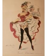 Alice Huertas Original Title: French CanCan, Dance, Vintage, Celebration... - $65.00