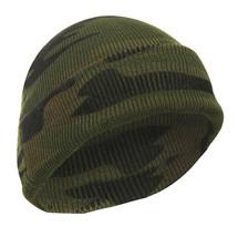 Woodland Camouflage 100% Acrylic Warm Winter Watch Cap - $7.99