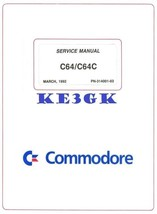 Commodore C64 C64C Service Manual * PDF * CDROM - $8.81