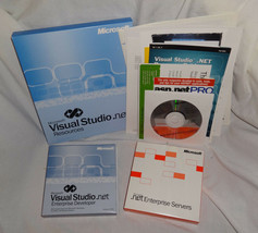 2003 Microsoft Visual Studio .Net Enterprise Developer FULL RETAIL 628-0... - $98.99