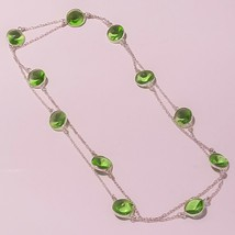 """Green Amethyst Faceted Handmade Gemstone Fashion Jewelry Necklace 36"""" US... - $7.24"""