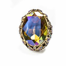 Heidi Daus Dare to Wear Statement Crystal Ring size 9, 10, 11, or 12 - $81.51
