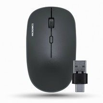 Micronics E5S Wireless Silent Mouse USB C Type Multi Receiver Low Noise Mouse image 1