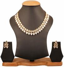 NUHA Fashion Gold Plated Necklace Set with Earrings for Women and Girls - $9.17