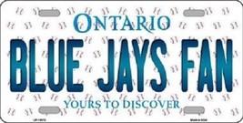 MLB Blue Jays Fan License Plate Novelty Metal State Background Toronto ... - $12.82