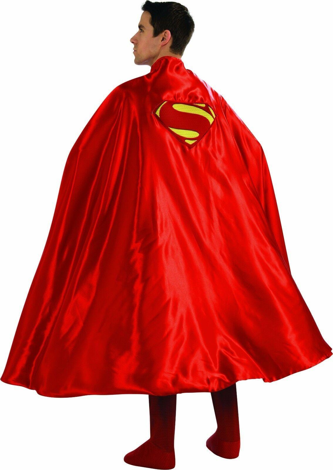 Rubies Cape Superman Homme D'Acier Logo Dc Comics Adulte Déguisement Halloween