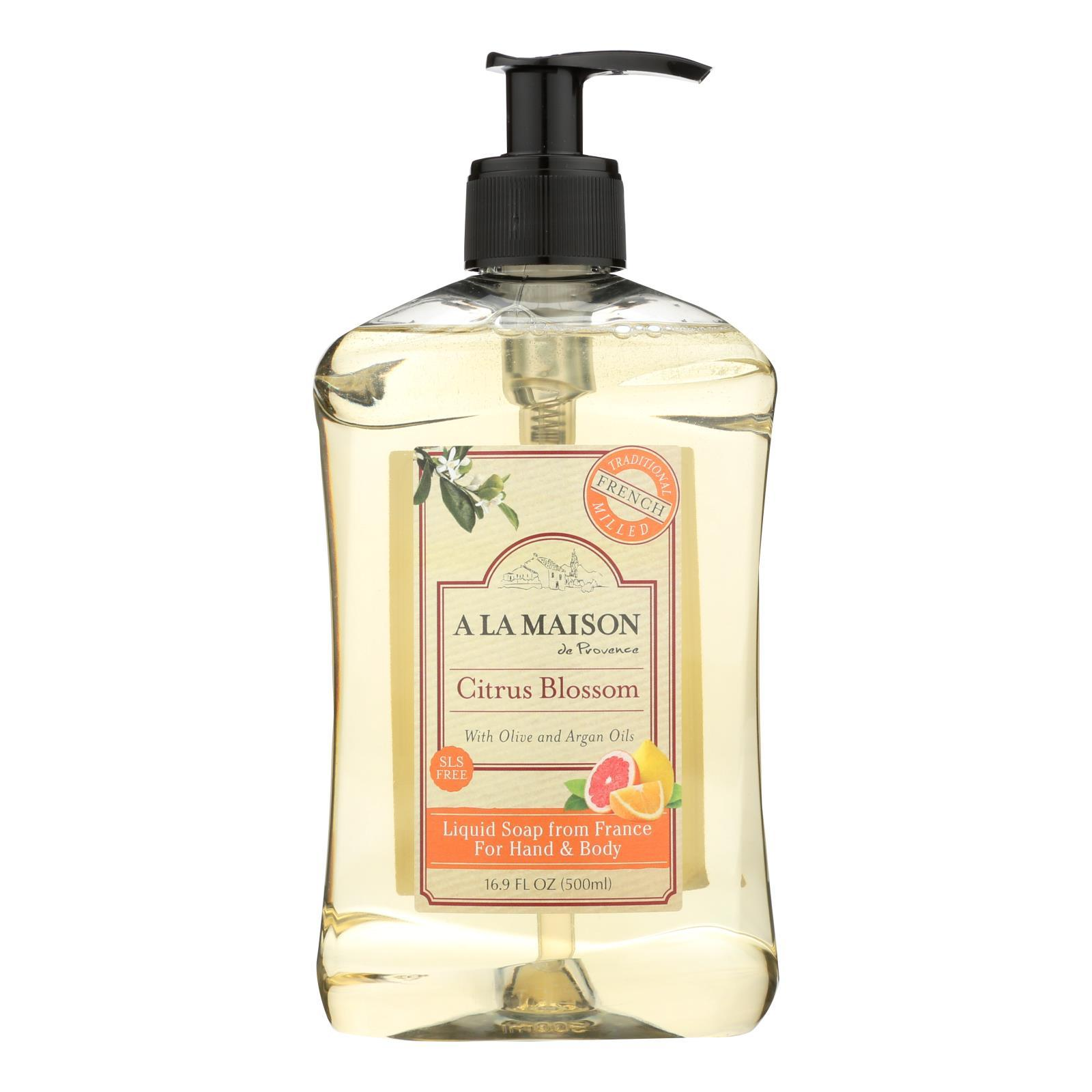 Primary image for A La Maison - Liquid Hand Soap - Citrus Blossom - 16.9 fl oz.