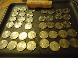 1999-P ROLL OF GEORGIA QUARTERS  >> COMBINED SHIPPING < - $14.36