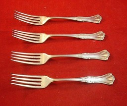 Group of 4 Silverplate Forks Marcella / Clifton by 1880 Pairpoint (#2208) - $29.00