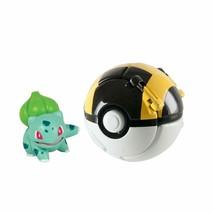 Pokemon Bulbasaur & Ultra Ball By TOMY - $21.32
