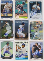 Detroit Tigers Signed Autographed Lot of (9) Baseball Cards - $14.99