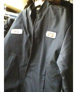 BLACK and gray medium thickness WINTER JACKET SIZE XL FULL ZIPPER - $18.70