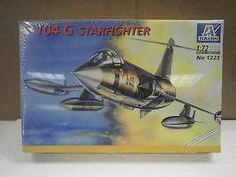 NEW MODEL- ITALERI MODEL KIT NO.1223- F-104 G STARFIGHTER- 1:72- NEW- W55 - $18.57