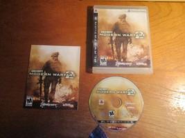 Call of Duty: Modern Warfare 2 (Sony PlayStation 3 ) with printed instru... - $5.00
