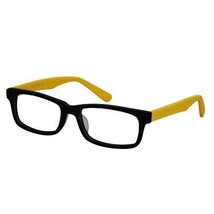 EBE Bifocal Wooder Black Unisex Yellow Retro Style Regular Reading Glasses - $28.87