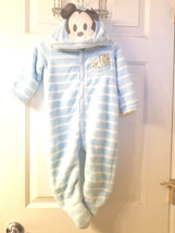 Disney Store Mickey Mouse Blanket Footed Sleeper For Baby Size 12-18 Months NWT - $19.99